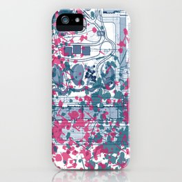 Abstract pattern 25 iPhone Case