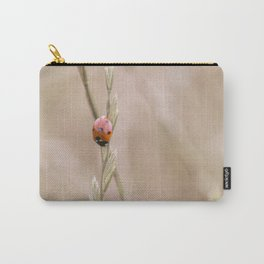 Ladybug in the grass Carry-All Pouch