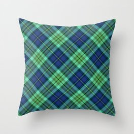 Scottish tartan #22 Throw Pillow