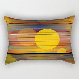 Colors Of A Sunset Rectangular Pillow