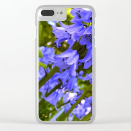 Purple Bliss Clear iPhone Case
