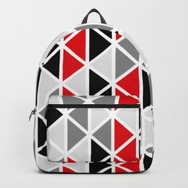 Triangular Vitrail Mosaic Pattern V.02 Backpack