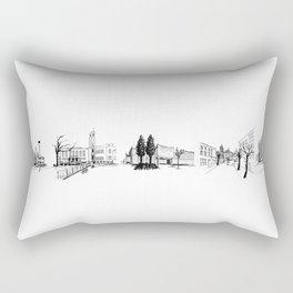 crouch end o'clock Rectangular Pillow