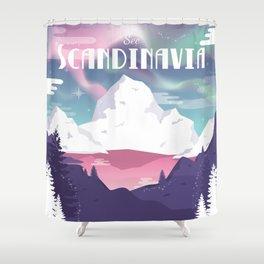 See Scandinavia Shower Curtain
