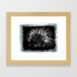 Pip the porcupine Framed Art Print
