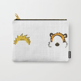 Calvin Hobbes Outline Carry-All Pouch