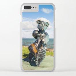 Irish landscape in Greystones Clear iPhone Case