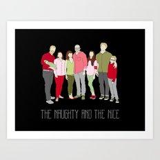 Elliker Family Holiday Art Print