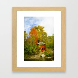 Hidden House Framed Art Print