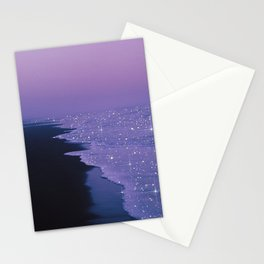 Purple magic Stationery Cards