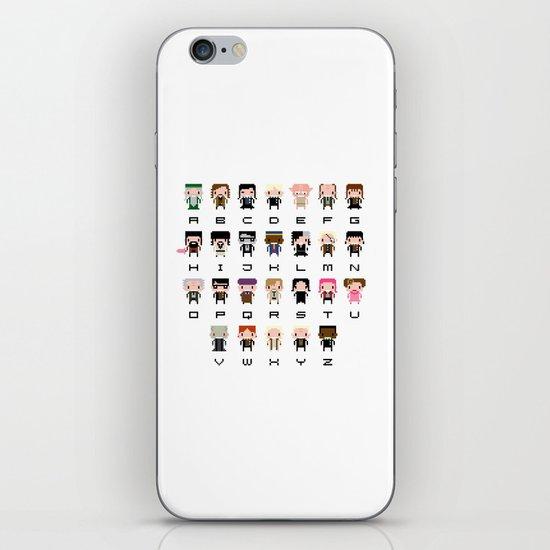 Harry Potter Alphabet iPhone & iPod Skin