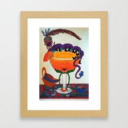 Drink Time Framed Art Print