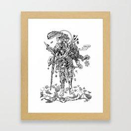 Knight (Ascension) Framed Art Print