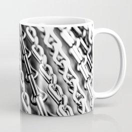 Chains. Black And White. Coffee Mug