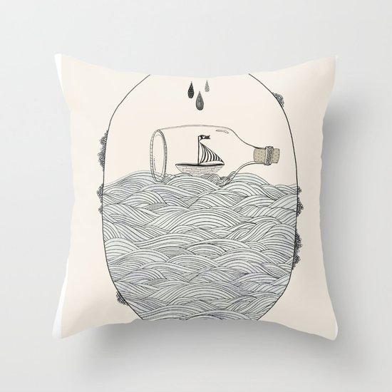 SEABOUND Throw Pillow