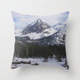 East Vidette - Pacific Crest Trail, California Throw Pillow