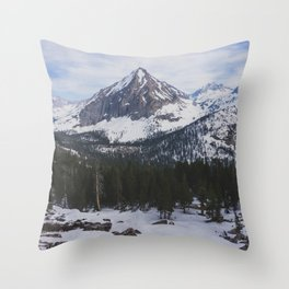 East Vidette - Pacific Crest Trail, California Throw Pillow