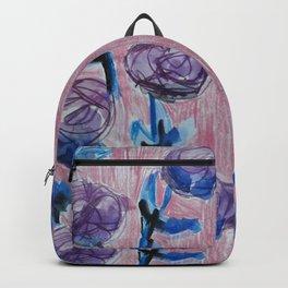 Rose Petals Series Paintings Backpack