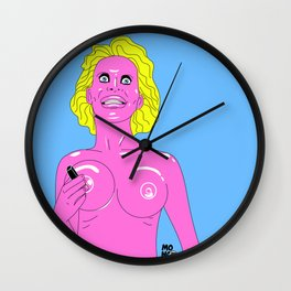 Amanda Lepore Wall Clock