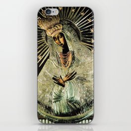 Our Lady Gate of Dawn Virgin Mary of Sharp Gate Madonna without Child Christmas Gift Religion Art iPhone Skin