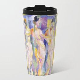 Robert Delaunay - La ville de Paris, 1911 Travel Mug