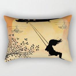 Nothing has changed Rectangular Pillow