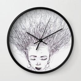 My head is a jungle Wall Clock