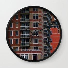 Manhattan Windows - Legos Wall Clock