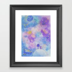 you are my lucky star Framed Art Print