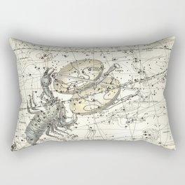 Scorpio Constellation Celestial Atlas Plate 19, Alexander Jamieson Rectangular Pillow