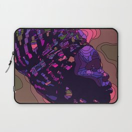Woman with headscarf / kerchief Laptop Sleeve