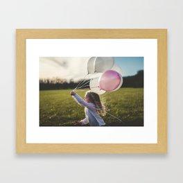 children are the keys of paradise. Framed Art Print