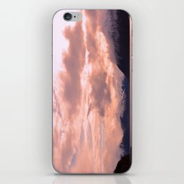 Rose Quartz Over Hope Valley iPhone Skin