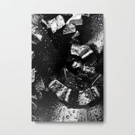 Tricone Drill Bit Close-up Metal Print