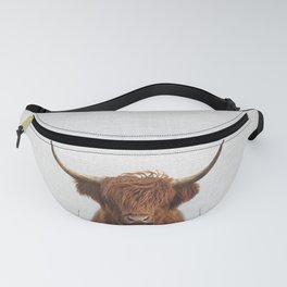 Highland Cow - Colorful Fanny Pack