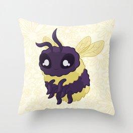 Bumbly Bumble Bee Throw Pillow