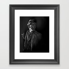 Stepping Out - Doctor Who Framed Art Print