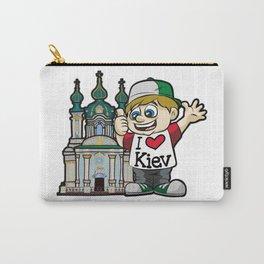 I LOVE KIEV Ukraine Russia Tourist Vacation City Carry-All Pouch
