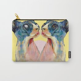 Twin Cats Carry-All Pouch