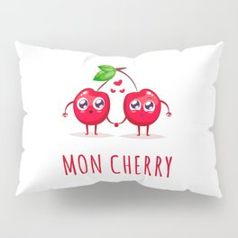 Mon Cherry Pillow Sham