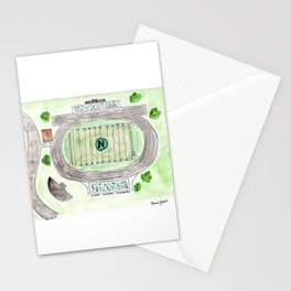 North Oldham High School Field, Kentucky, Mustangs Stationery Cards