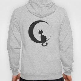 Cat on the Moon Hoody
