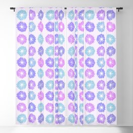 Playful Flowers Cool Blackout Curtain