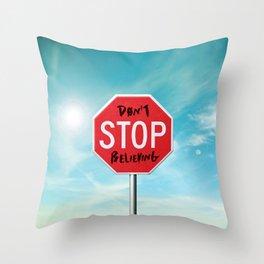 The Sign Throw Pillow