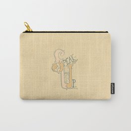 Speak Up | Proverbs 31:9 (alternate color) Carry-All Pouch