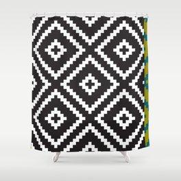 IKEA Lappljung Ruta Inverse  Shower Curtain