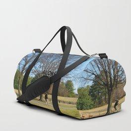 A Peaceful Walk Duffle Bag