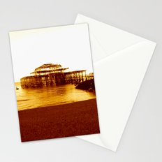 brighton west pier (07) Stationery Cards
