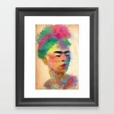 frida kahlo Framed Art Print
