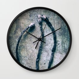 Burnt Matches ( Don´t Play With Fire ) Wall Clock